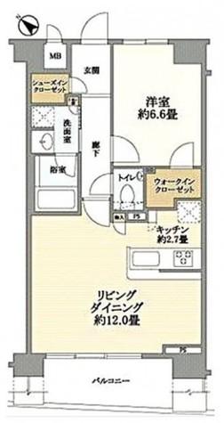 フェリズ横浜公園タイムズコート / 11階 部屋画像1