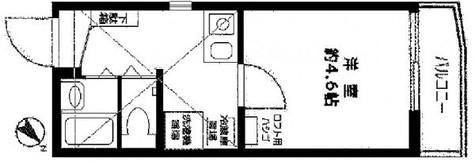 リーヴェルポート横浜三ツ沢 / 2階 部屋画像1