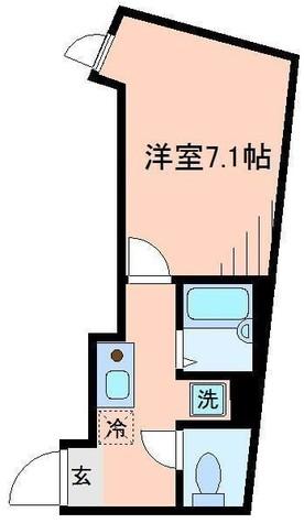 コートドール二俣川 / 204 部屋画像1