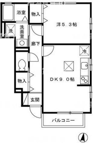 グレイス-T / 1階 部屋画像1