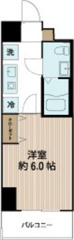 ドーミー横浜 / 6階 部屋画像1