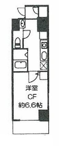 ドミール川崎2番館 / 9階 部屋画像1