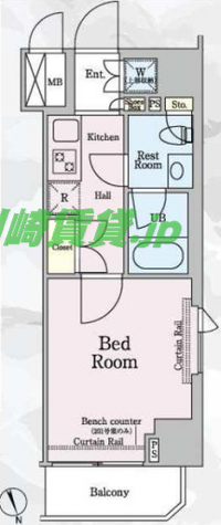 ルーブル新丸子 / 7階 部屋画像1