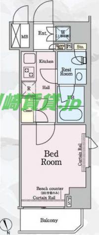 ルーブル新丸子 / 11階 部屋画像1