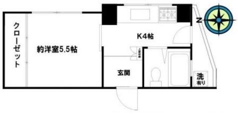 第四得丸ビル / 3階 部屋画像1