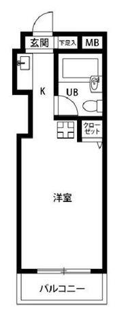 プレール恵比寿 / 4階 部屋画像1