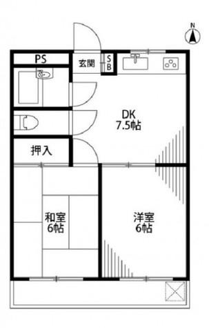ハイコーポ晃栄 / 3階 部屋画像1