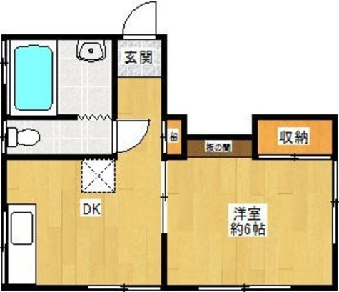明治マンション / 2階 部屋画像1