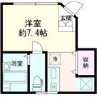 仮称)新宿区荒木町アパート / 1階 部屋画像1