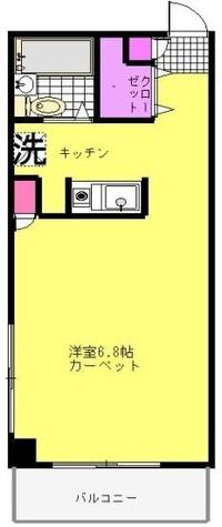 ピュアコートf / 302 部屋画像1