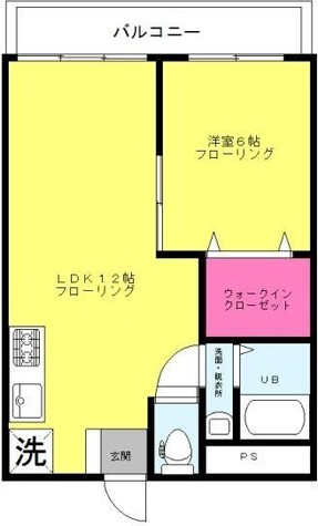 シルバーコーポ / 5階 部屋画像1