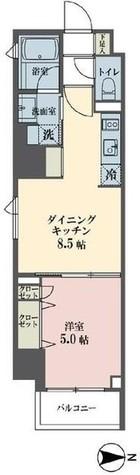 レーヴ半蔵門 / 5階 部屋画像1