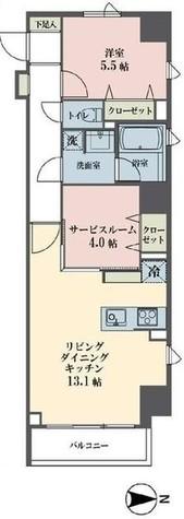 レーヴ半蔵門 / 3階 部屋画像1