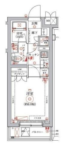 セジョリ横浜鶴見 / 4階 部屋画像1
