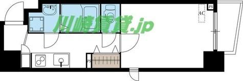 ディアコート川崎 / 5階 部屋画像1