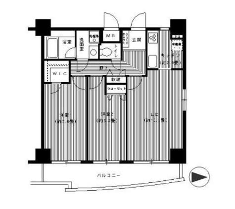 イーリス ネオ / 9階 部屋画像1