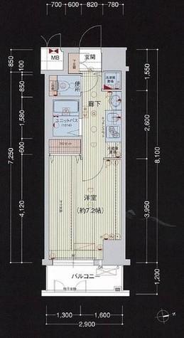 プレサンス新宿御苑前アルティメット / 12階 部屋画像1