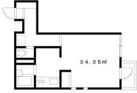 クレドール富久 / 3階 部屋画像1