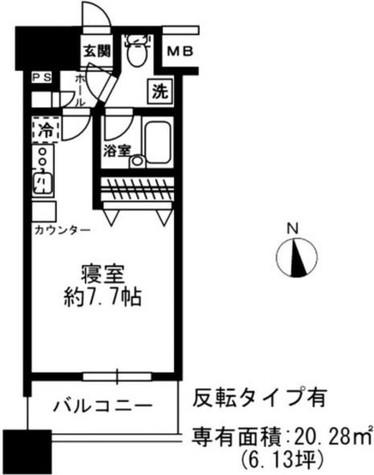 レジディア四谷三丁目 / 4階 部屋画像1