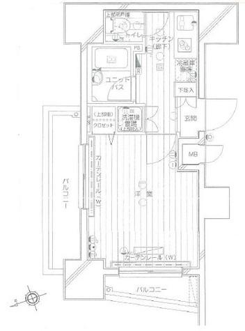 プロフ大塚 / 2階 部屋画像1