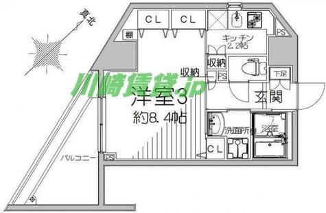 ナタリーレジデンス横浜鶴見 / 1103 部屋画像1