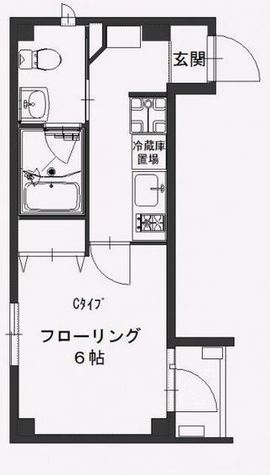 b'CASA(ビーカーサ)大森海岸 / 3階 部屋画像1