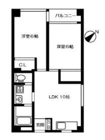 シャレーコート / 1階 部屋画像1