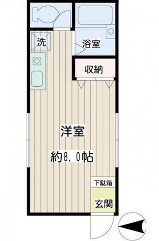 青木荘 / 1階 部屋画像1