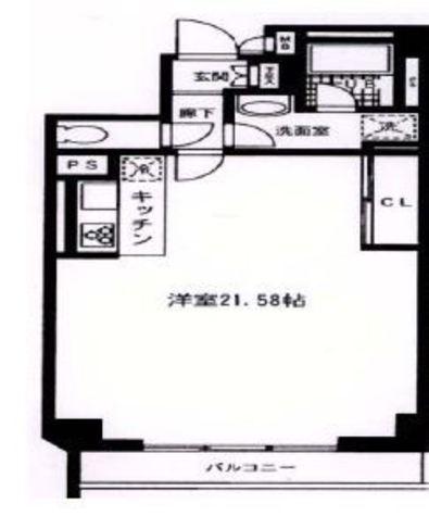 田町イースト / 9階 部屋画像1