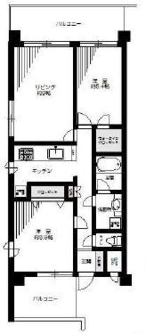 ラ・トゥール海岸 / 9階 部屋画像1