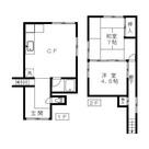 コーポ石川 / 1階 部屋画像1