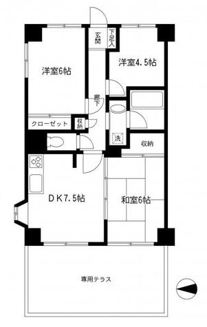 マイキャッスル大井ゼームス坂 / 1階 部屋画像1