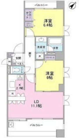 リブゼ横浜ベイモール / 3階 部屋画像1
