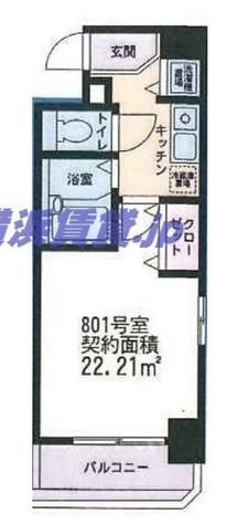 アーク横浜東白楽 / 6階 部屋画像1