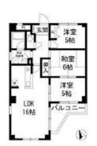 カーサフローラ / 2階 部屋画像1