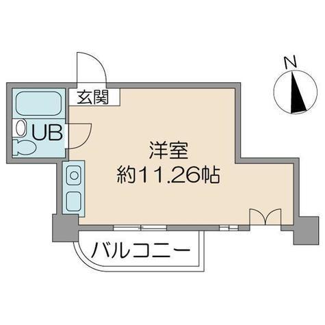 レジデンスマルーモ / 2階 部屋画像1