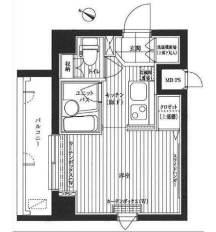 ルーブル目黒 / 6階 部屋画像1