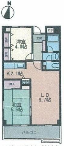 ハートピア・イイダ / 3階 部屋画像1
