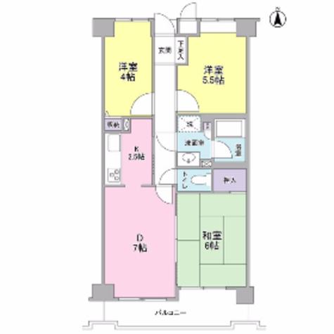 新横浜ガーデンコートAサイド・Bサイド / 5階 部屋画像1