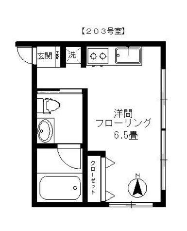 祐天寺スクエア(1-1-3) / 1階 部屋画像1
