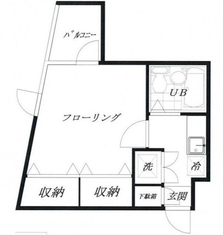 スターライトハイツ / 4階 部屋画像1