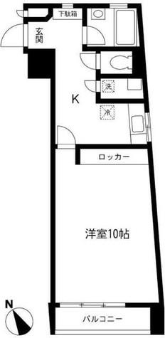 マンションVIP四ッ谷 / 701 部屋画像1