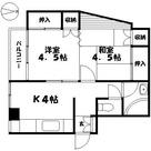 マンション信濃苑 / 2階 部屋画像1