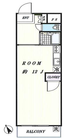 ハッピーマンション / 3階 部屋画像1