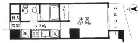 東品川シーサイドコート / 3階 部屋画像1