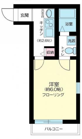 ESPERANZA(エスペランザ) / 2階 部屋画像1