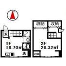 品川コーポ / 1階 部屋画像1