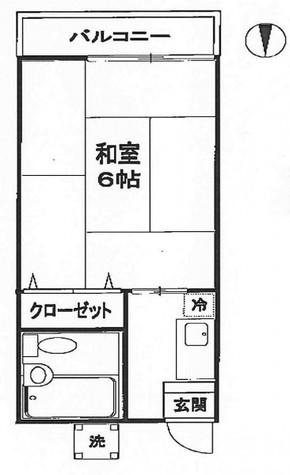 シャンブルシオン / 2階 部屋画像1