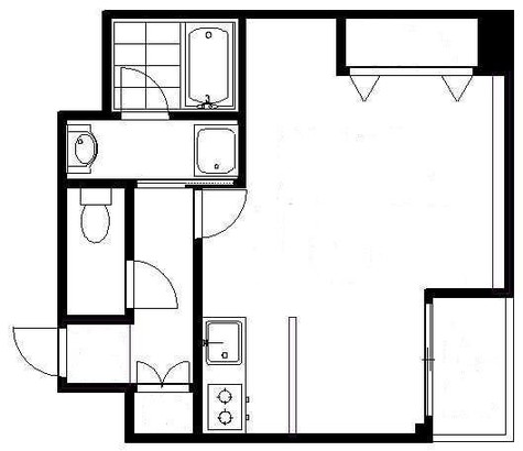 目黒いずみマンション / 8階 部屋画像1