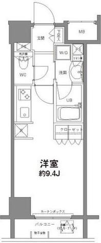 コンフォリア新宿御苑Ⅱ / 8階 部屋画像1